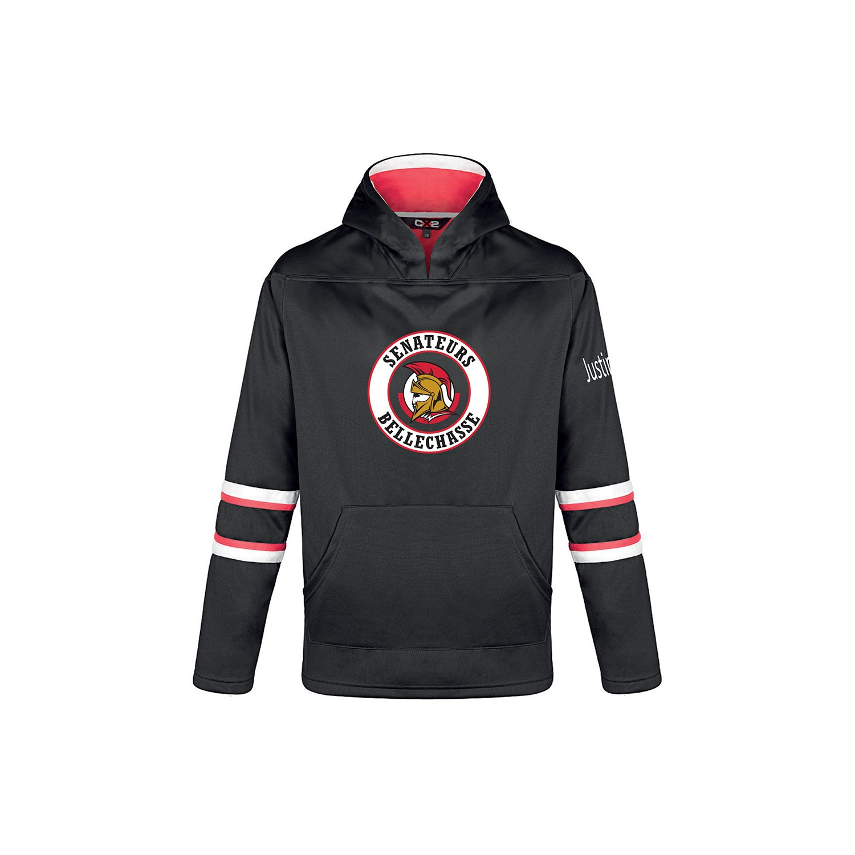 Chandail polyester Hockey à capuchon - Junior